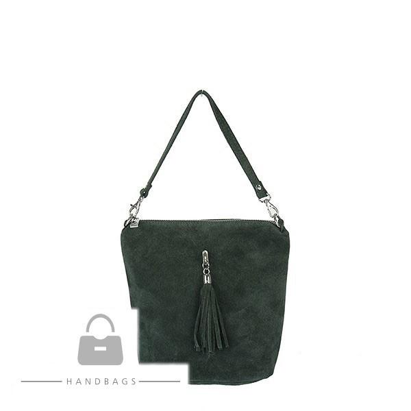 Fashion kabelka zelená koža AW-483146-168
