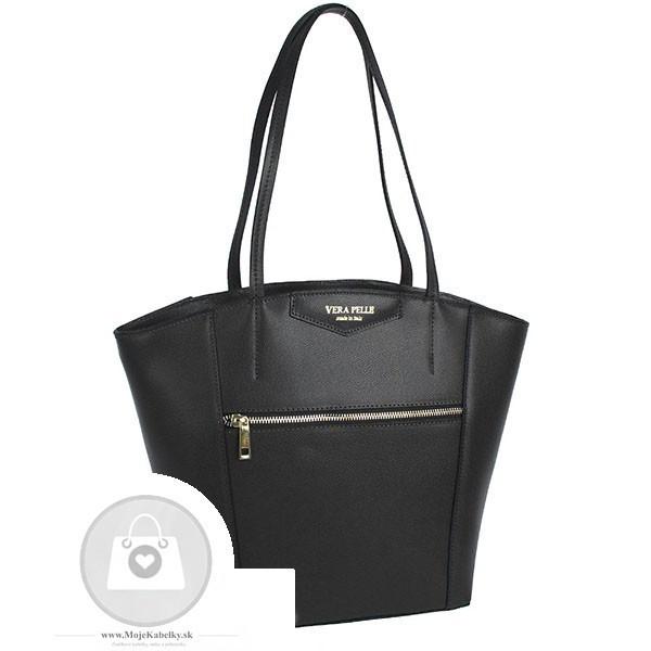 Kožená kabelka cez rameno Vera Pelle - MKA-499489