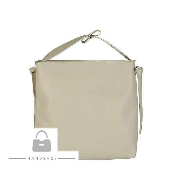 Kožená kabelka Elizabet Canard béžová koža AW-480676-53 - Kožené ... e8ac01fb691