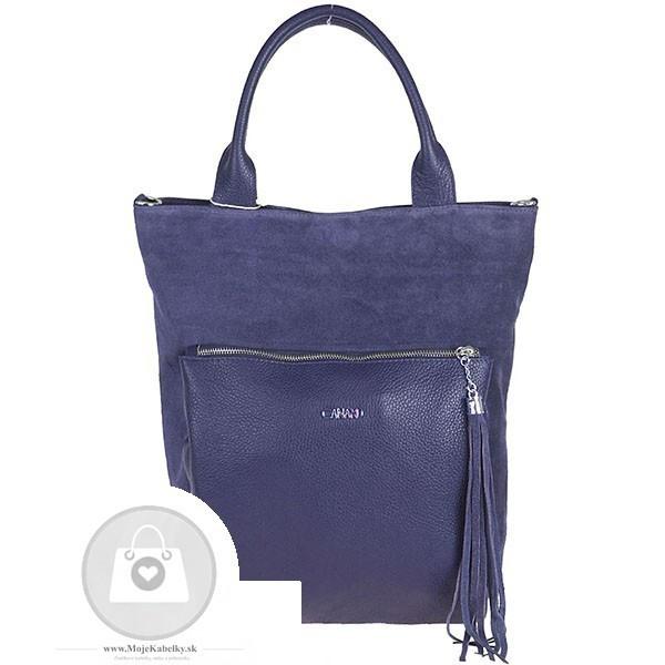 Kožená kabelka ELIZABET CANARD koža - MKA-489620