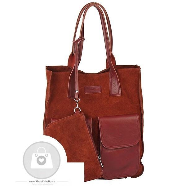 Kožená kabelka IMPORT koža - MKA-496825