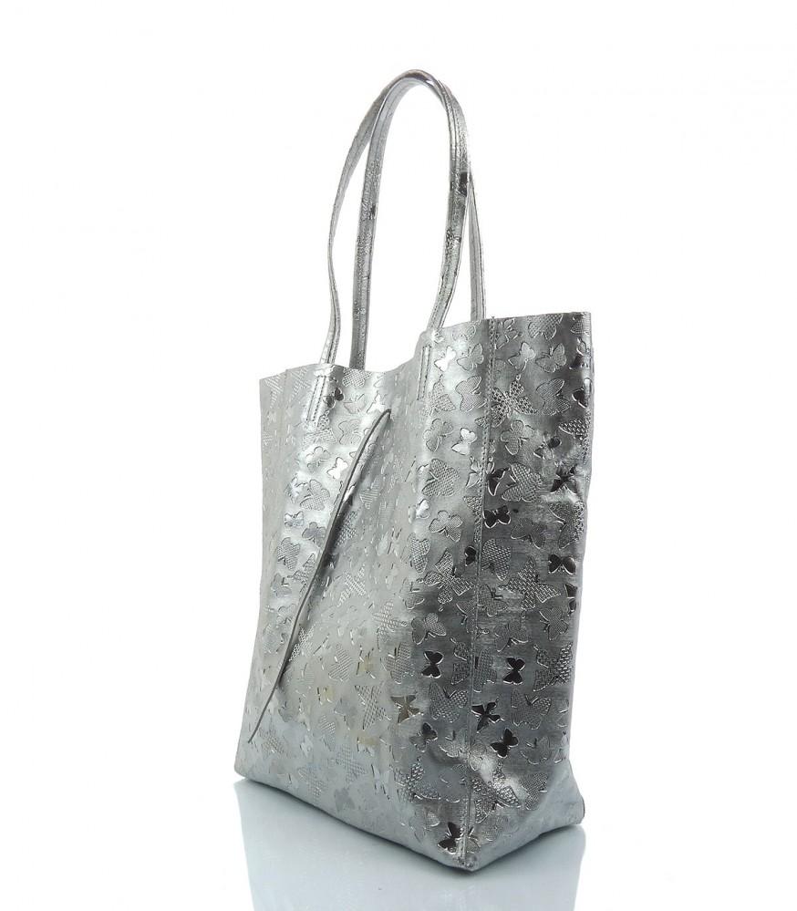 Kožená kabelka IMPORT - MKA-494084 - Kožené kabelky - Locca.sk f2bde43d44e