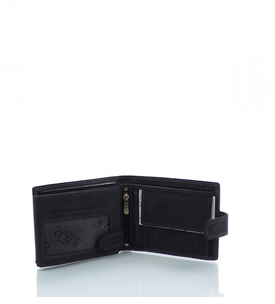 4f42d07458 Pánska peňaženka WILD ekokoža - MK-494445-čierna - Pánske peňaženky ...