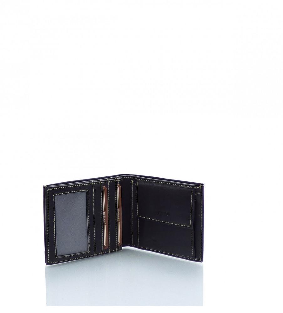 4688129ad5 Pánska peňaženka WILD koža - MK-495891-čierna - Pánske peňaženky ...