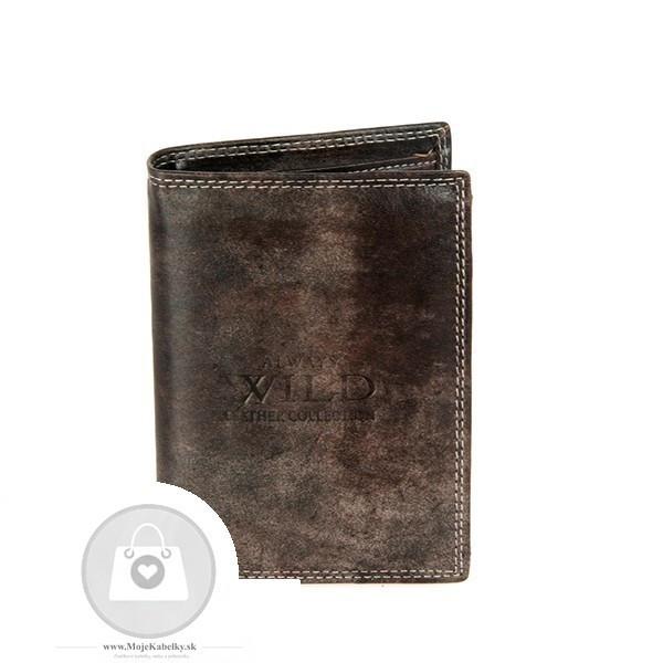 22d15efa7 Pánska peňaženka WILD koža - MKA-491587 - Pánske peňaženky - Locca.sk