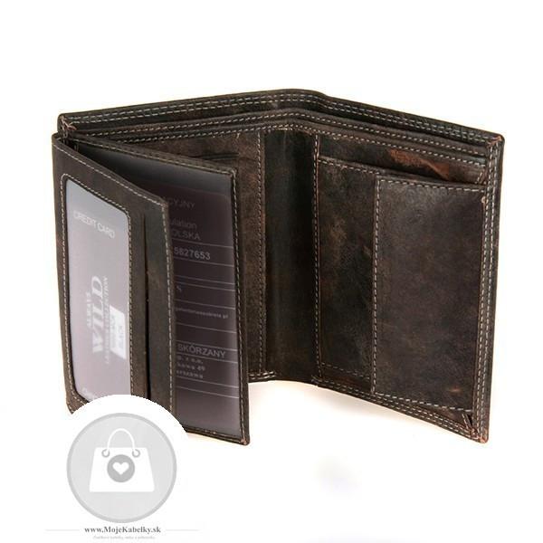 ba43dac41 Pánska peňaženka WILD koža - MKA-494821 - Pánske peňaženky - Locca.sk