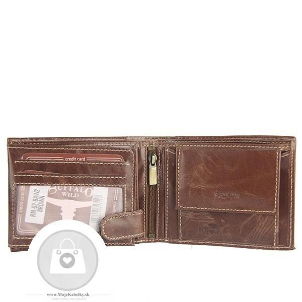 7266f29b0 Pánska peňaženka WILD koža - MKA-495834 - Pánske peňaženky - Locca.sk