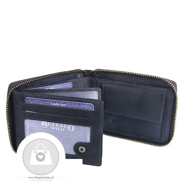 89eac0ca3 Pánska peňaženka WILD koža - MKA-499322 - Pánske peňaženky - Locca.sk