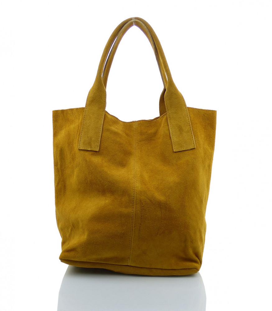 8d99ca817 Talianska kabelka Made in Italy brúsená koža - MK-490992-žltohnedá ...