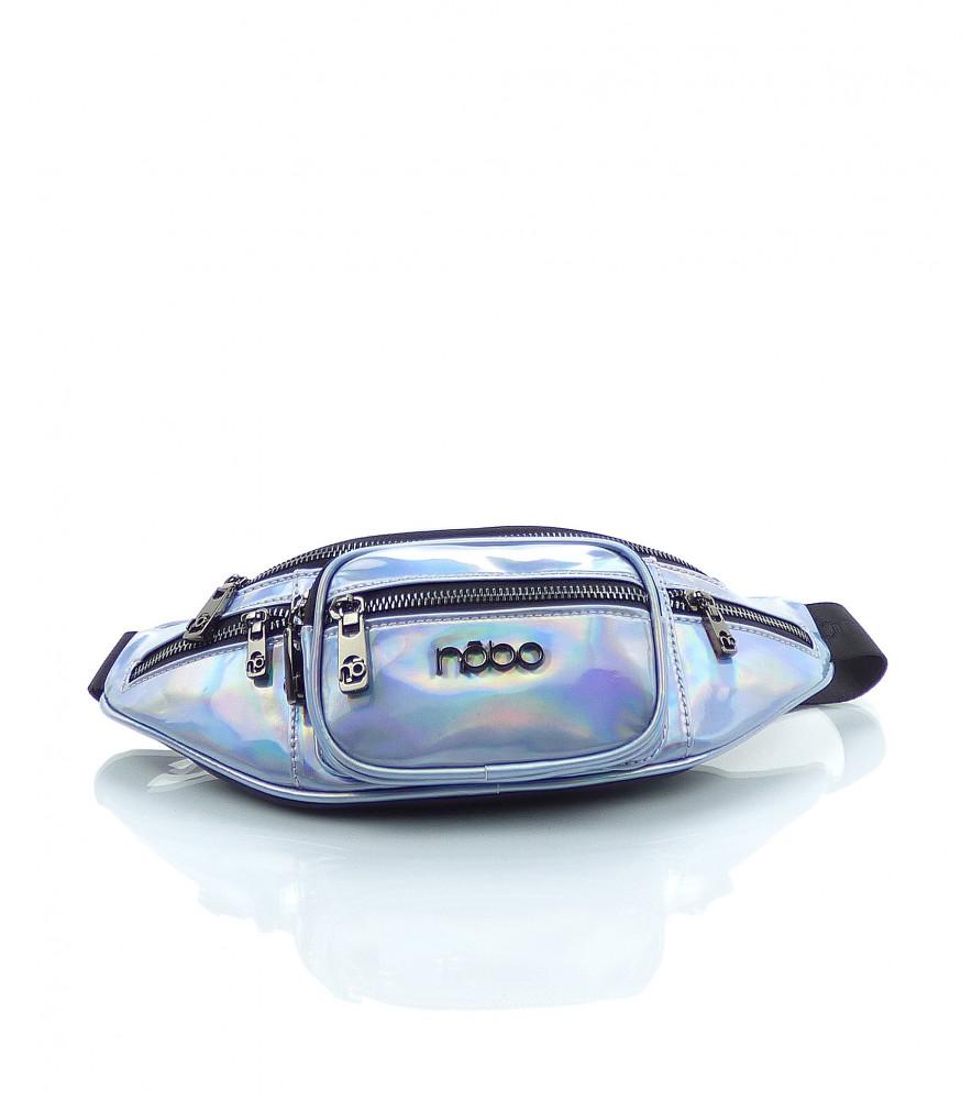 Značková dámska ľadvinka NÕBO ekokoža - MK-026554-modrá